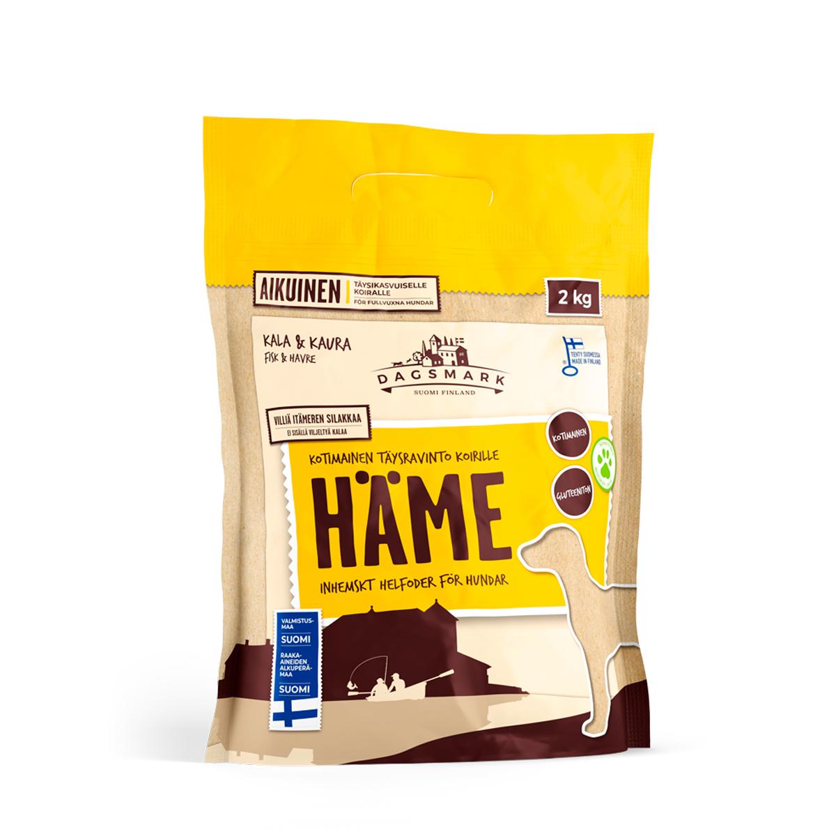 Koiran kuivaruoka Häme 2 kg