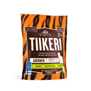 Tiikeri kissankuivaruokapussi