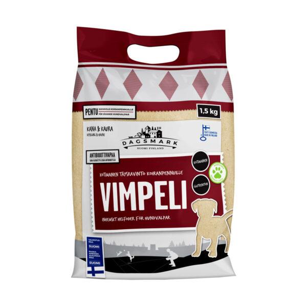 Dagsmark Vimpeli 1,5 kg koirankuivaruoka pakkaus