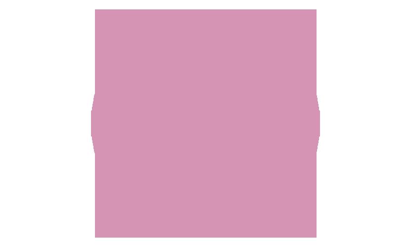 Ei säteilytetty ikoni, pinkki