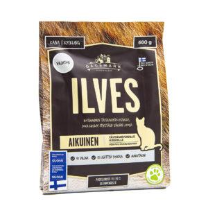 Dagsmark Ilves kissan kuivaruokapakkaus