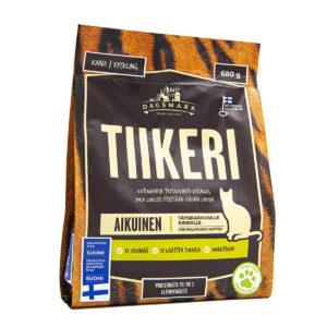 Dagsmark Tiikeri kissan kuivaruokapakkaus